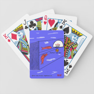 """""""Surfing the Net"""" Bicycle Playing Cards"""