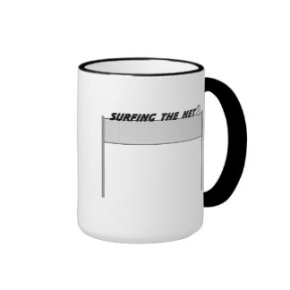 Surfing The Net Ringer Mug