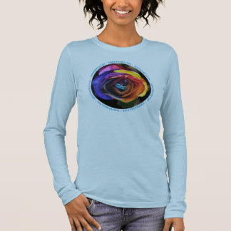 Surfing the Rainbow Rose T-Shirt