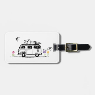 surfing the USA series for freedom lovers Bag Tag