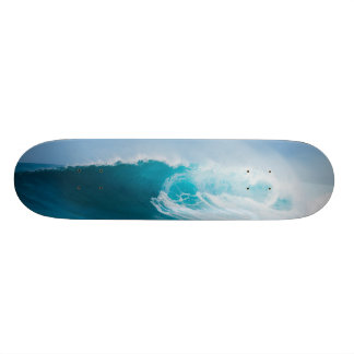 """""""Surfing the Wave"""" Customized Skateboard"""