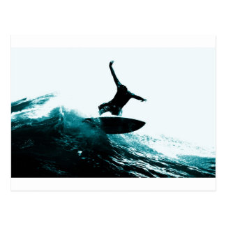 Surfing the Wave Postcard