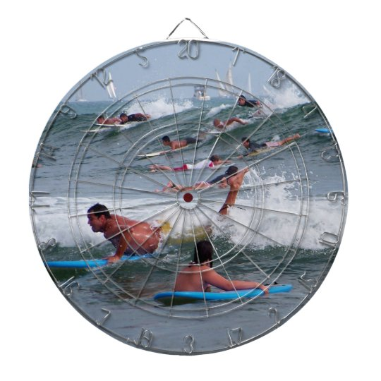 Surfing the waves_ dartboard