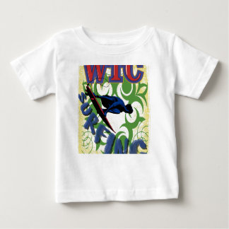 surfing tribal baby T-Shirt