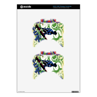 surfing tribal xbox 360 controller skins