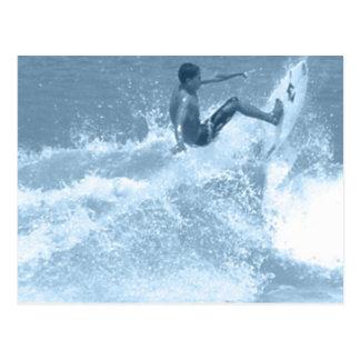 Surfing Tricks Postcard