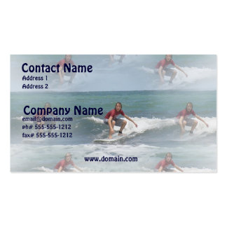 Surfing USA Business Card