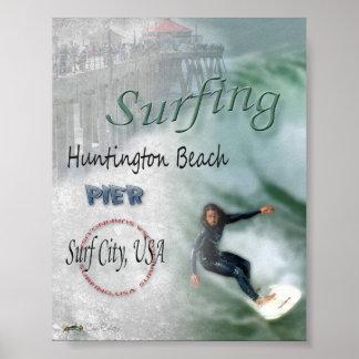 Surfing USA Print