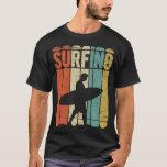 """Surfing Vintage T-Shirt<br><div class=""""desc"""">Best Surfing Vintage T-Shirt.</div>"""