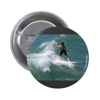 Surfing Wave Pin