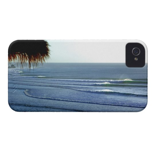 Surfing Waves Breaking in Bali iphone iPhone 4 Case
