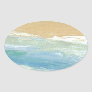 Surfing Waves in Motion Ocean Waves Beach Decor