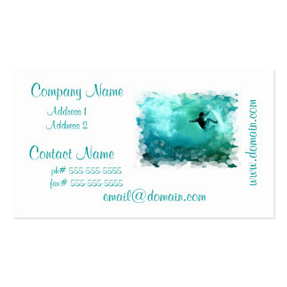 Surfing Wipeout Business Card