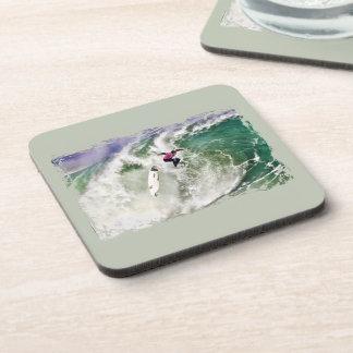 Surfing Wipeout Drink Coaster
