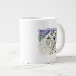 Surfing Wipeout Giant Coffee Mug