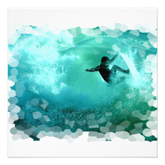 Surfing Wipeout Invitations