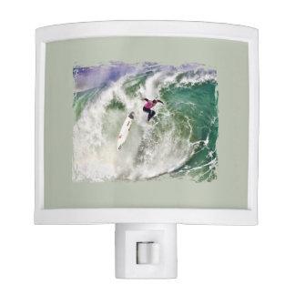 Surfing Wipeout Night Light