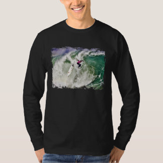 Surfing Wipeout on Huge Wave T-Shirt