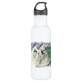 Surfing Wipeout Stainless Steel Water Bottle