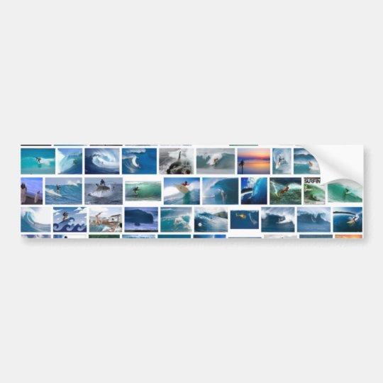 Surfing X Bumper Sticker