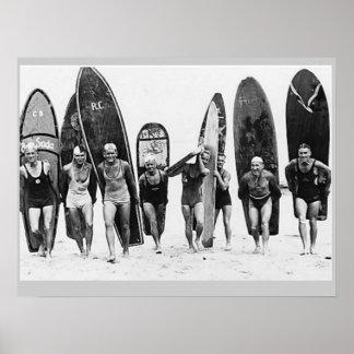 Surf'n Poster