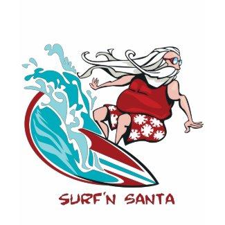 Surf'n Santa shirt