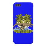 Surfosaurus iPhone 5 Protectores