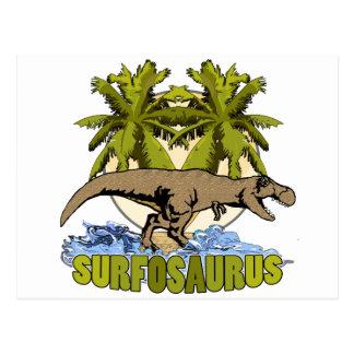 Surfosaurus Postcard