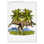 Surfosaurus Tarjeta