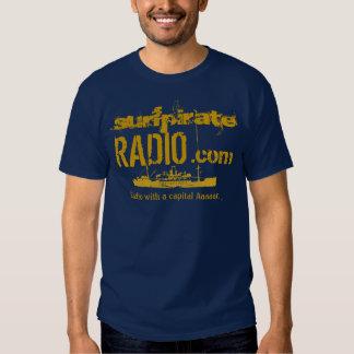 surfpirateRADIO dot com Tee Shirt