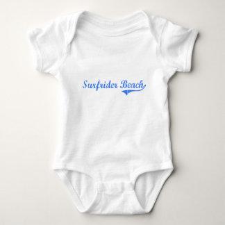 Surfrider Beach California Classic Design Infant Creeper