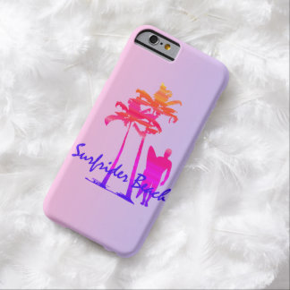 Surfrider Beach Hawaiian Palm Tree Blend Barely There iPhone 6 Case