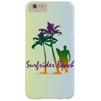 Surfrider Beach Hawaiian Palm Tree Blend Barely There iPhone 6 Plus Case