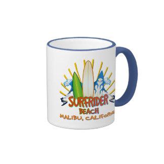 Surfrider Beach, Malibu, California Coffee Mug