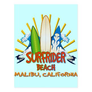 Surfrider Beach, Malibu, California Postcard