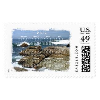 Surf's Up; 2012 Calendar Postage