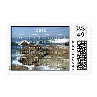 Surf's Up; 2012 Calendar Postage Stamps