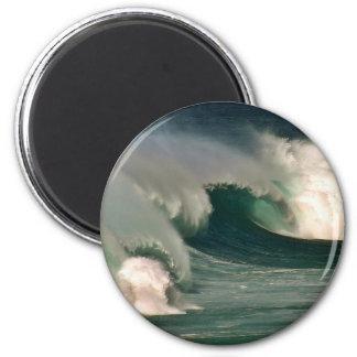 Surf's Up! 2 Inch Round Magnet