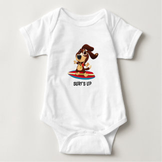 Surf's up baby bodysuit