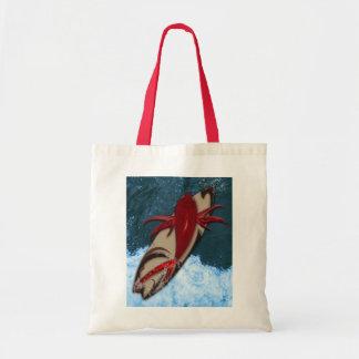 Surf's Up Budget Tote Bag