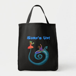Surf's Up! Grocery Tote Bag