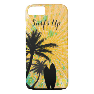 Surf's Up, Beachy iPhone 7 Case