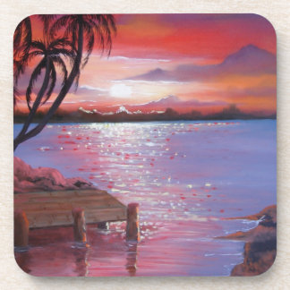 Surfs Up Beverage Coaster
