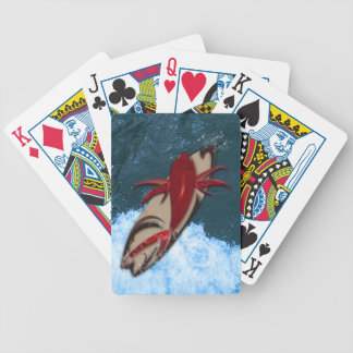 Surf's Up Bicycle Playing Cards
