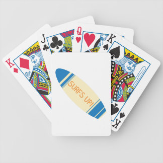 Surfs Up! Bicycle Playing Cards