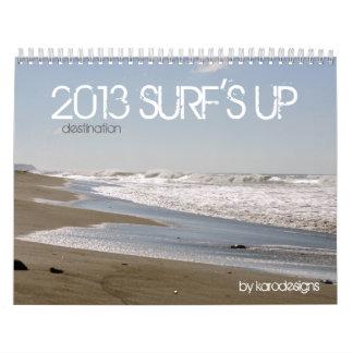 Surf's Up Calendar