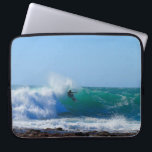 "Surfs Up Computer Sleeve<br><div class=""desc"">Photo of Surfer</div>"