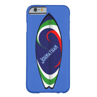 Surf's Up - Customizable Text Barely There iPhone 6 Case
