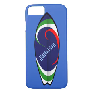 Surf's Up - Customizable Text iPhone 8/7 Case