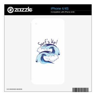 Surfs Up Decals For The iPhone 4